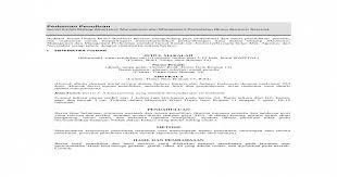 Contoh review jurnal nanti saya akan paparkan dulu ya formatnya. Sistematika Penulisan Jurnal Penelitian Jurnal Doc
