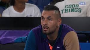 Nick kyrgios has declared he will not continue to play after turning on the chair umpire over a system malfunction. Jwarfv7bur1rfm