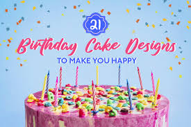 21 Birthday Cake Designs To Make You Happy