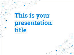 presentation template create a professional presentation fast this easy to edit and template the background design fits social media connection internet or science