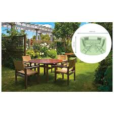 sutton water resistant small round patio set cover