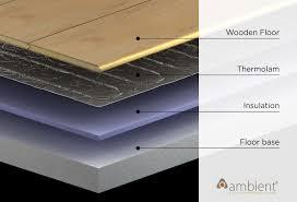 heated floor under hardwood part 34 electric underfloor heating thermolam heating kits