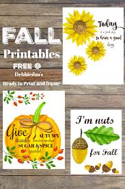 Fall Quotes Inspiration Fall Quotes And Printables Debbiedoos