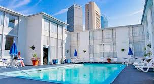 hotel outdoor pool. Boston Midtown Hotel Outdoor Swimming Pool