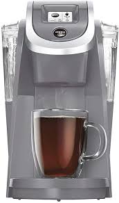 Get it as soon as tomorrow, may 14. Amazon Com Keurig K200 Single Serve K Cup Pod Coffee Maker Cashmere Gray Limited Edition Kitchen Dining