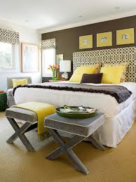 Amazing Yellow And Gray Bedrooms Photos - Best idea home design .