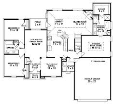 Three Bedroom Floor Plan House Design Single Story Open Floor Plans One Story  3 Bedroom 2 .