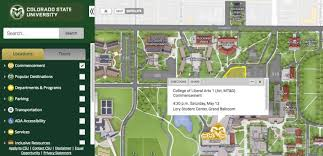 Csu Canvas Stadium Seating Chart Commencement Week Interactive Campus Map To Ceremonies