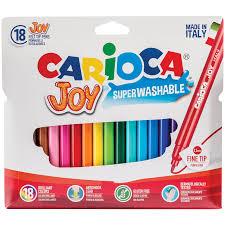 """<b>Фломастеры Carioca</b> """"<b>Joy</b>"""", 18цв., смываемые, картон ..."""