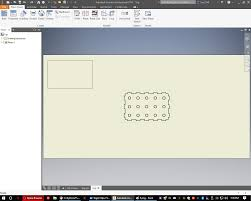 In an active 2d sketch, click sketch tab draw panel line. Autodesk Inventor Laser Cutting Tutorial Grabcad Tutorials