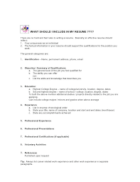 What Should I Include In My Resume What A Cover Letter Should Look