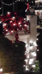 Mesh Christmas Tree Light Covers Mailbox Decorated For Christmas Christmas Light Displays