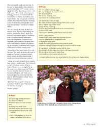 Milton Magazine, Fall 2005 by Milton Academy - issuu
