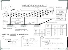 free patio cover blueprints patio cover plans really encourage intended for 4 free standing patio cover free patio cover