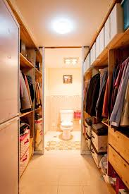 master bedroom with bathroom and walk in closet. Master Bedroom Walk-in Closet And Bathroom With Walk In