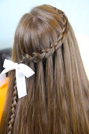 Pretty Girl Hair Style Dutch Waterfall Braid Cute Girls Hairstyles Cute Girls Hairstyles 8241 by wearticles.com
