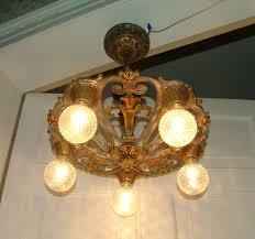 image of vintage 1920s chandelier