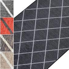 Teppichläufer Cosenza Rauten Muster Im Look Viele Größen Moderner
