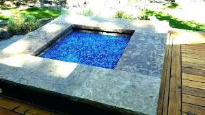 glass rock firepit glass glass rock propane fire pit