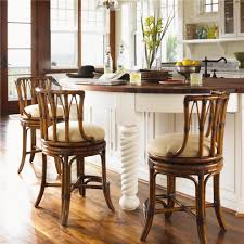 Rattan Kitchen Furniture Rattan Counter Stools Kitchen Traditional With British Colonial