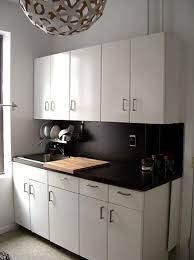black painted countertops
