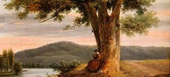 essential editing tips to use in your essay writing image shows a painting of a w reading under a tree