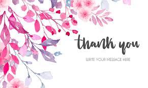 Thank You Card Maker Design Thank You Cards