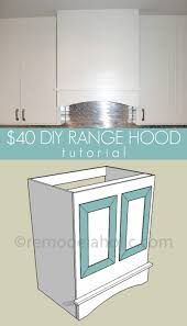 Range Hood Kitchen Remodelaholic Kitchen Renovation And Diy Range Hood Tutorial