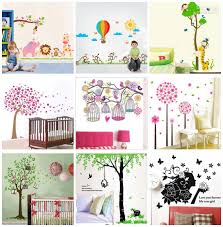 xcm removable wall stickers decals kids nursery wall decor