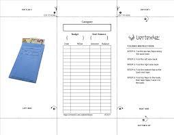 Envelope Size Chart Pdf Cash Envelopes Printable Cash Envelope Tracker Templates