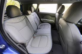 kia soul ev backseat