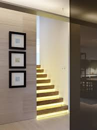 stair lighting indoor. image of contemporary indoor stair lights lighting t