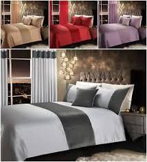 quilted duvet cover. Image Is Loading Velvet-Quilted-Duvet-Quilt-Cover-Bedding-Set-Curtains- Quilted Duvet Cover