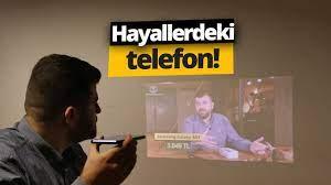 Evi Sinemaya Çeviren Telefon! Projeksiyonlu Voga 55909 inceleme - YouTube