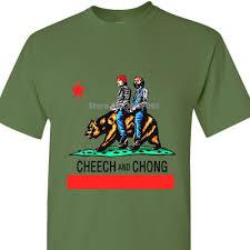 Men Adult T Shirt Long Sleeve Cotton Cheech Chong California Mens T Shirt In Heather Grey S 2xl Coat Clothes Tops