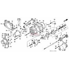Honda aquatrax jet pump rebuild kit for turbo models jet skis jet pump rebuild diagram at fray diagram