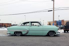 1954 Chevrolet Bel Air (Custom)...Re-pin brought to you by agents ...
