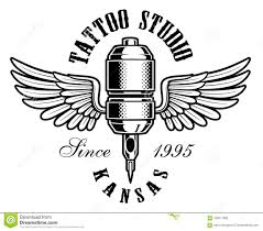 Tattoo Machine Logo Stock Illustration Illustration Of Illustration