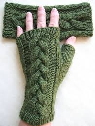 Fingerless <b>Gloves</b> for Women Clover | Etsy | Наручные грелки ...
