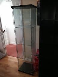 ikea detolf glass door cabinet