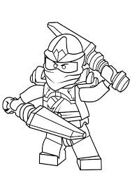 If he can easily cope, offer him something. Coloring Pages Lego Ninjago Jay Coloring Pages For Kids