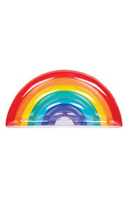 Design Your Own Pool Float Sunnylife Inflatable Rainbow Pool Float Nordstrom