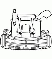 Tractor Tom Colouring Pages 5 In All