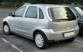 File:Opel Corsa C Facelift rear 20090919.jpg - Wikimedia Commons
