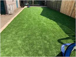 how to lay artificial grass on uneven