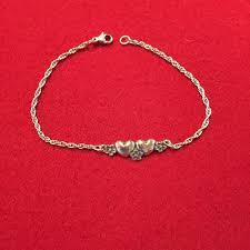 James Avery Jewelry   James Avery Hearts And Flowers Bracelet   Poshmark