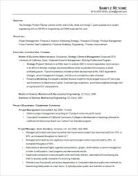 Chronological Sample Resume Printable Chronological Resume Example