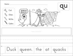 These beautifully illustrated phonics worksheets ask children to fill in the words and colour any pictures that include the 'qu' sound. Consonant Digraph Sh Phonics Scrambled Sentence Printable Cut And Pastes Skills Sheets