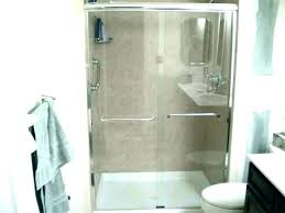 corner shower kits small bathrooms bathroom walk in for door kit on a budget downs equip corner shower kits small bathrooms