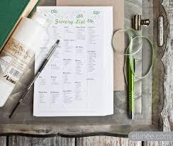 Grocery List Printable Checklist Free Grocery List Printable Fab N Free